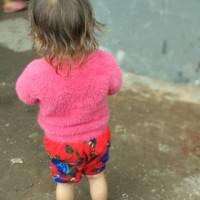 Blouse Atasan Mona Rajut bulu halus Size 2-3th Atasan anak murah baju