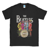 Baju Kaos Band The Beatles Sergeant Pepper