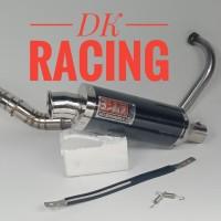 knalpot racing yamaha scorpio z yoshimura usa monster carbonn
