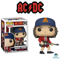 Funko POP Rocks AC/DC - Angus Young with Red Jacket (Exclusive) #91
