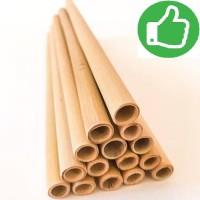 Sedotan Bambu | Bamboo Straw eco-friendly & reuseable