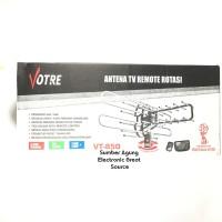 Antena TV Remot Rotasi Votre VT850 Jernih Berkualitas Berputar 360