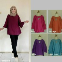 Busana baju muslim/atasan gamis/blouse hijab baloteli