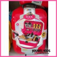mainan cowok anak laki laki perkakas alat tukang tool set back pack