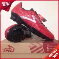 Sepatu Bola Specs Quark FG Chestnut Red 100757 Original BNIB