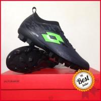 Sepatu Bola Lotto Veloce FG Blade Black Green L01010003 Original BNIB