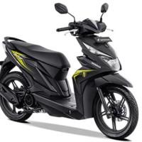 BODY COVER MOTOR / SARUNG MOTOR HONDA BEAT ANTI PANAS DAN AIR MURAH!! - Biru