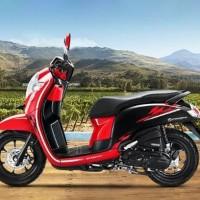 COVER MOTOR / SARUNG MOTOR HONDA SCOOPY TAHAN PANAS & AIR BERKUALITAS - Hitam