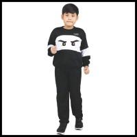 Baju stelan olahraga trendy anak laki-laki usia 6 8 10 thn