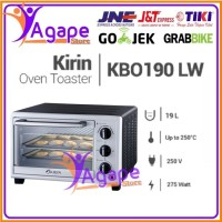 KIRIN Oven Toaster Listrik 19 Liter KBO-190-LW