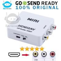HDMI to AV RCA / HDMI2AV Converter Mini Box Support FULL HD Original