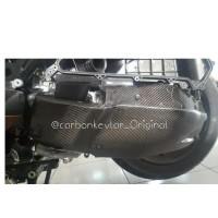 Cover CVT Motor Matic Yamaha Xmax 250cc Bahan Carbon Kevlar asli100%