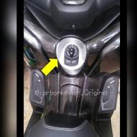 Cover Kunci Kontak Yamaha Xmax 250cc Bahan Carbon Kevlar asli 100%