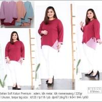 Vero Bigsize Blouse Jumbo Baju Atasan Wanita Big Size Besar