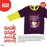 Afrakids AF217 Baju Kaos Bayi Anak Muslim Murah Grosir Diskon Cewek