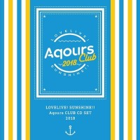 CD Single Love Live! Sunshine!! Aqours CLUB CD SET 2018 Limited Press