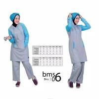 Believe BMS 06 - Baju Muslim Senam Olah Raga Syar'i Termurah Original