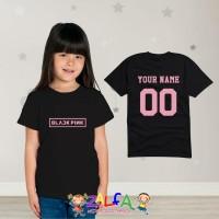 Tshirt Kaos Baju Anak Anak Blackpink Design Suka Suka - By Zalfa Kids