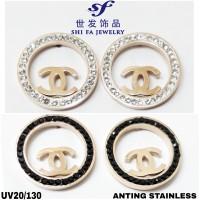 ANTING FASHION SHI FA / ANTING STAINLESS / AKSESORIS WANITA UV20