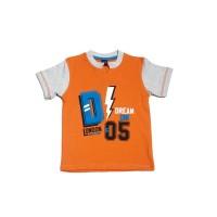 KIDS ICON - Kaos Anak Laki-laki DYL Orange T-Shirt - DY1K0400180