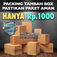 BOX PACKAGING DUS KEMASAN BELANJA TAMBAHAN DI BUDGET GADGET