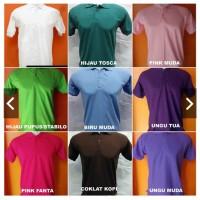 Kaos Kerah Polos Baju Berkerah Murah Kualitas Bagus - Kaos Polo Shirt