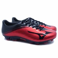 Sepatu Bola Mizuno Basara 101 Md - Highrisk Red/Black