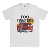 Baju Kaos Band Foo Fighters Van