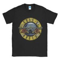 Baju Kaos Band Gun N Roses Colliseum Logo
