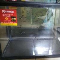 Aquarium khansa ikan cupang guppy reptil ukuran size S