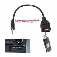 Otg USB Audio AUX 3.5mm / USB Male To Aux Plug Jack 3.5mm