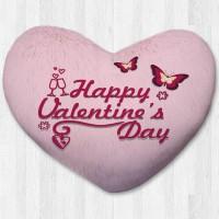 Bantal hati / kado valentine - Valentine Words Large