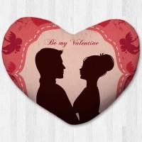 Bantal hati / kado valentine - Be My Valentine Shadow Small