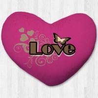 Bantal hati / kado valentine - Butterfly Love Small