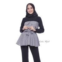 Baju Atasan Wanita Alika Top Blouse Baju Muslim Blus Muslim