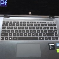 HP Pavilion x360 14 Laptop Keyboard Protector Black Cover Pelindung