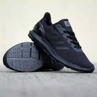 sepatu adidas cloudfoam cosmic full black original indonesia bnwb