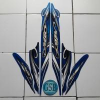 stiker lis body motor yamaha mio sporty 2010 biru