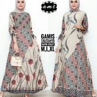 Batik Solo Gamis Talita 15 Kode AB AMT Batik Amanah Surakarta 155.000