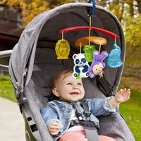 MAINAN BAYI FISHER PRICE ON THE GO STOLLER MOBILE