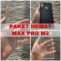 [PAKET] Asus Zenfone Max Pro M2 Premium Tempered Glass + Airbag Case