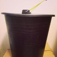 Ember Bak Karet Hitam Anti Pecah 26 Liter Only Gojek/Grab