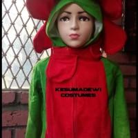 HOT SALE Bunga, Baju Karnaval Anak Kostum Karakter Tanaman terjamin