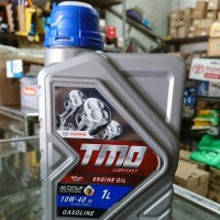 Oli mobil bensin Toyota TMO 10w 40 isi 1 liter dijamin Asli Ori Baru