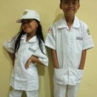 baju dokter kecil/kostum anak/baju profesi dokcil