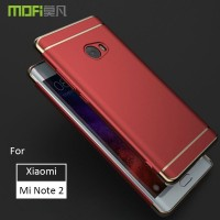 Casing Xiaomi Mi Note 2 Case Cover MOFI 3 in 1 Luxury Back Cover Case