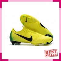 Nike Mercurial Vapor XII Elite FG Yellow Green l Sepatu Bola