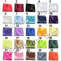 sapu tangan saku jas pocket square warna lengkap distributor dasi