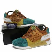 Sepatu Sneakers Asics Gel Lyte III 3 X 24 Kilates Express Brown Green