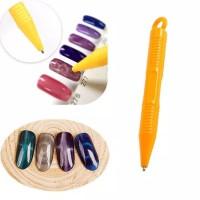 Magnet Pen Cat's Eye Nail Art/pen magnet untuk nail art
